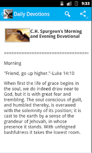 Morning & Evening Devotional- screenshot thumbnail