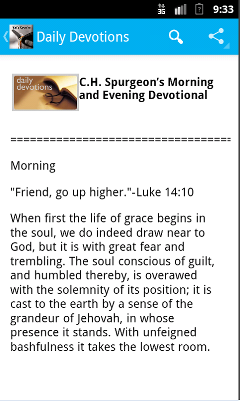 Morning & Evening Devotional- screenshot