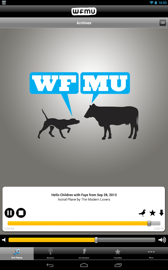 WFMU (Official) - screenshot