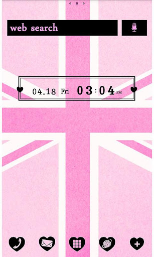 Pink Union Jack for[+]HOME