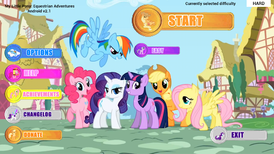 MLP: Equestrian Adventures HD