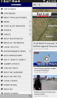 Screenshot of WECT 6 Local News