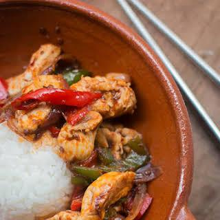 Thai Stir-Fried Chicken with Chile Jam.