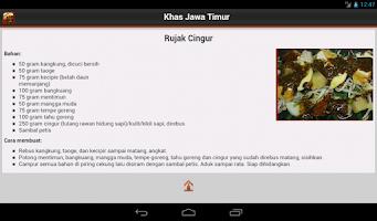 Screenshot of Resep Jawa Timur