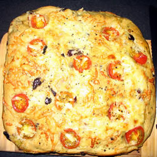 Black Olive and Rosemary Focaccia