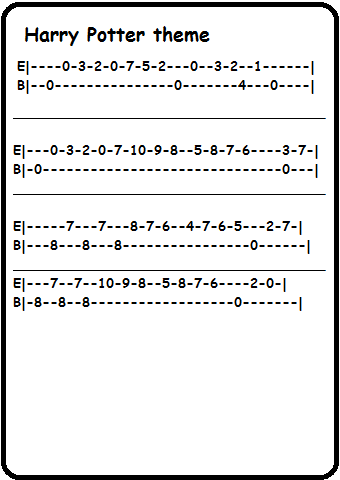 how to read guitar tabs easy