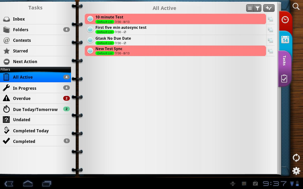 Pocket Informant-Events,Tasks - screenshot