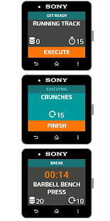 Workout for SmartWatch