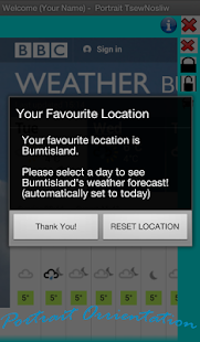 GROG - Your BBC Weather Info.- screenshot thumbnail