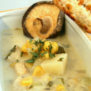 Slow-Cooker Corn and Fish Chowder