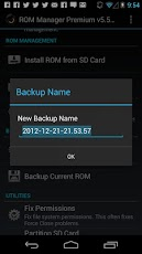 Rom Manager Premium Android
