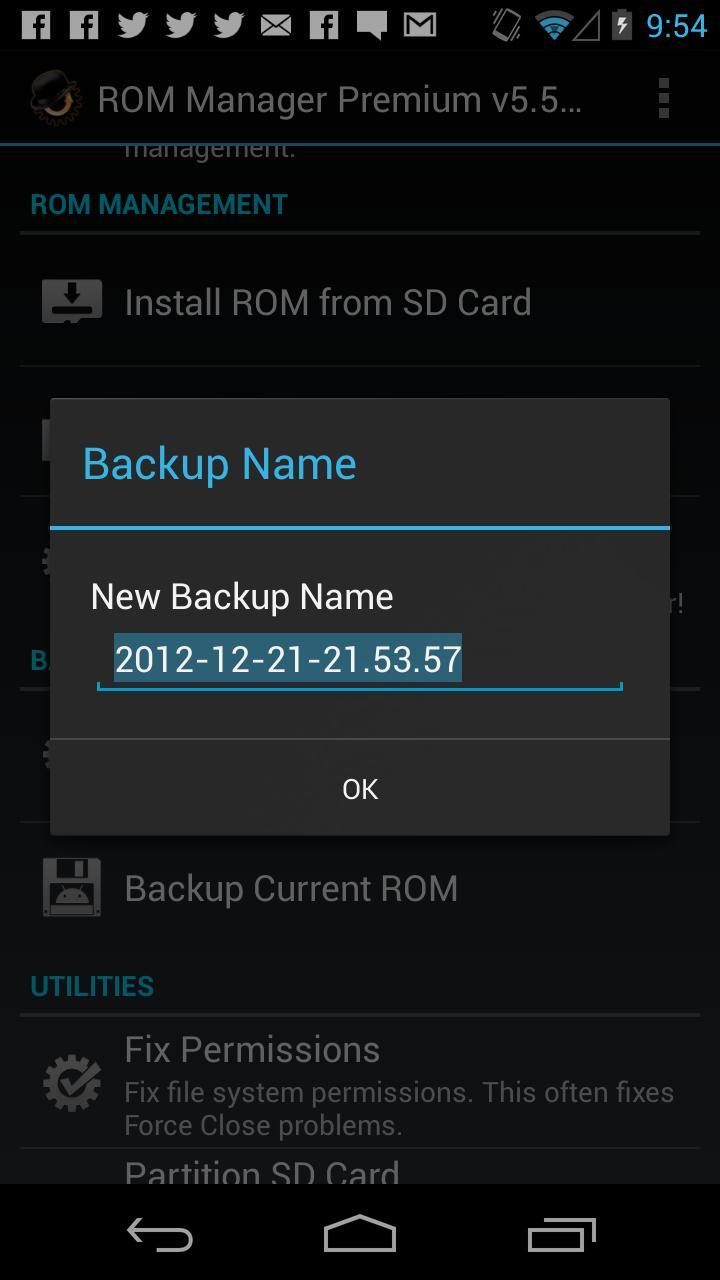 ROM Manager (Premium) screenshot #6
