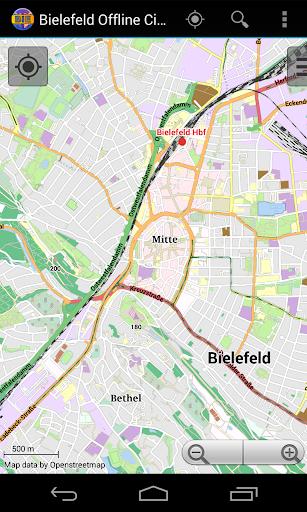 Bielefeld Offline City Map