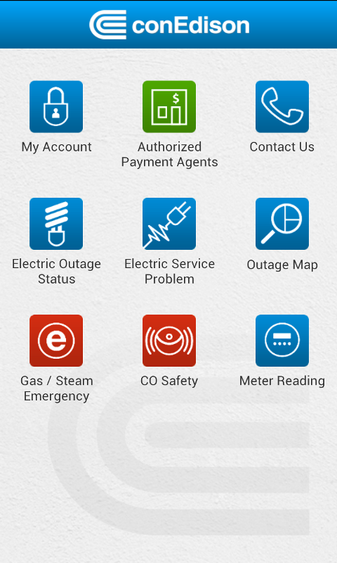 My conEdison- screenshot