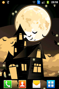 Halloween Night Live Wallpaper - screenshot thumbnail