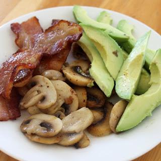 Bacon, Avocado and Mushrooms Recipe