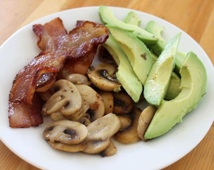 Bacon, Avocado and Mushrooms