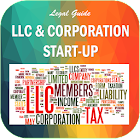 LLC and Corporation Start-Up icon