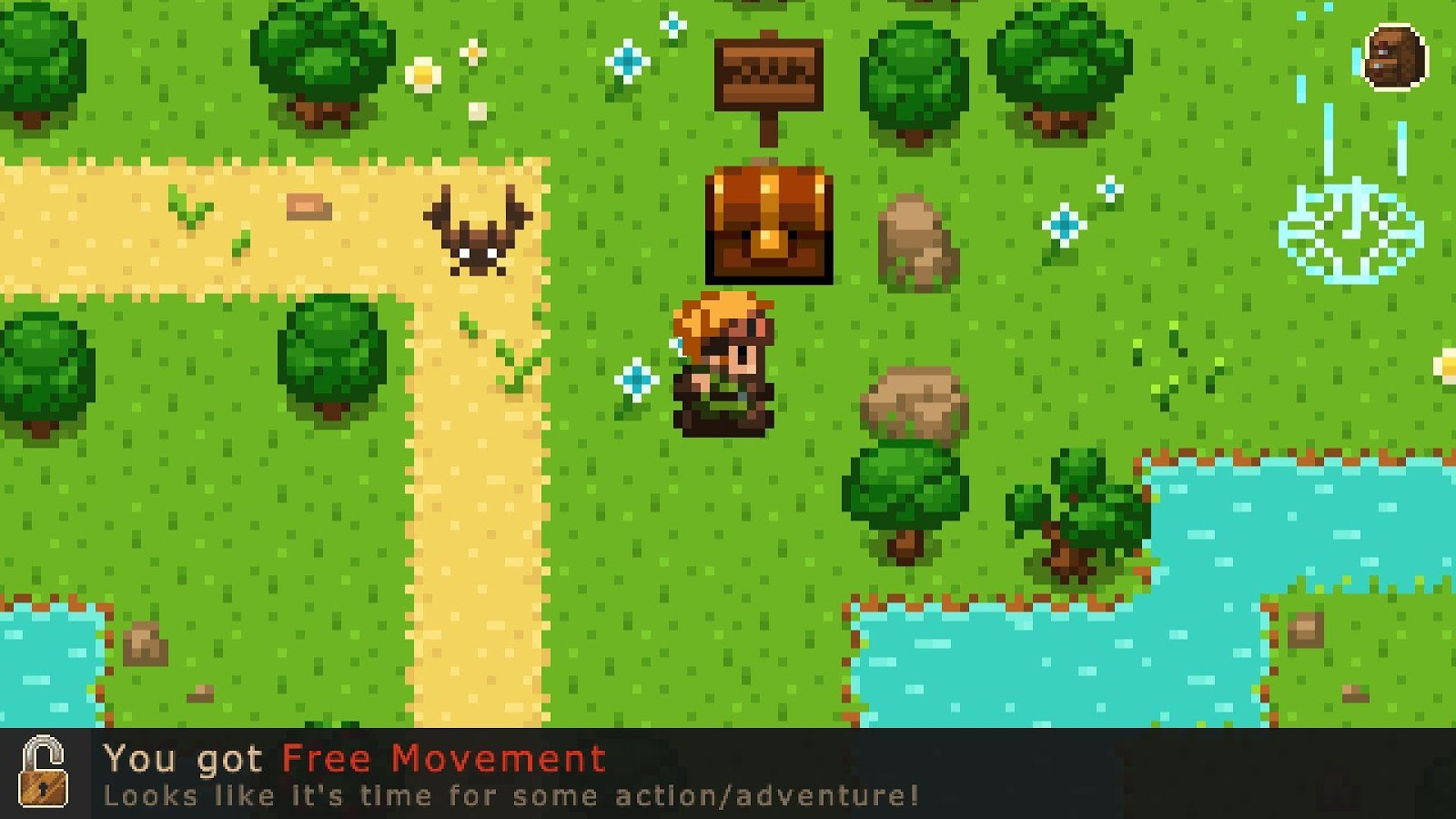 Evoland - screenshot