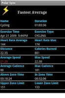 Screenshot of Polar Sync