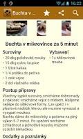 Screenshot of Studentská kuchařka HD