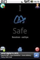 Screenshot of I AM SAFE