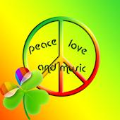 GO Launcher EX symbols peace
