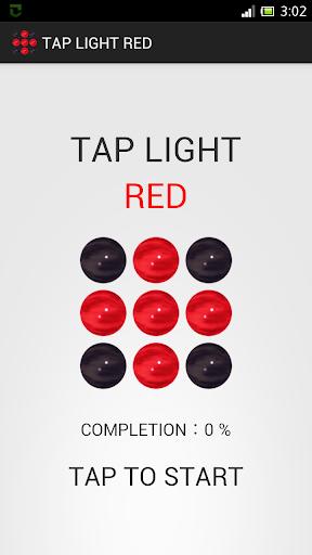 Tap Light Red