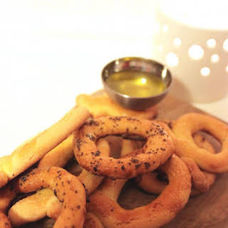 Extra Virgin Olive Oil Ring Cookies.
