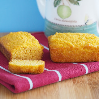 Cornbread Mini Loaves (Gluten-Free and Vegan)