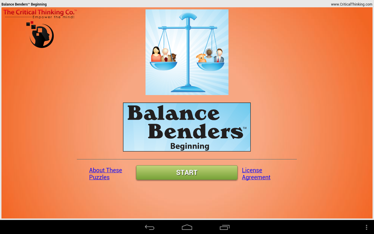 Balance Benders™ Beginning- screenshot