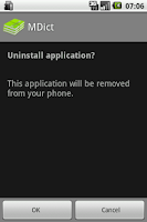 Screenshot of Uninstaller