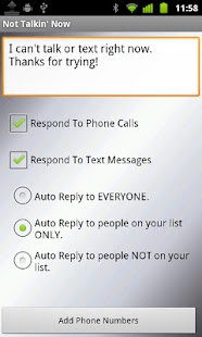 Text(SMS) & Call Auto Reply + - screenshot thumbnail