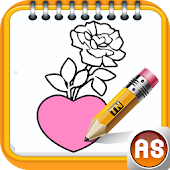 How To Draw: Hearts And Roses