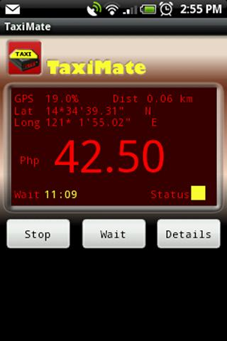 TaxiMate Free (Manila) - screenshot