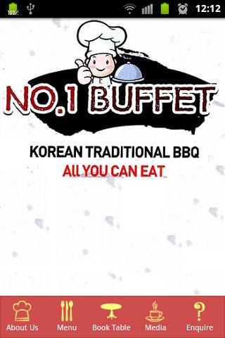 No 1 Buffet-Korean BBQ
