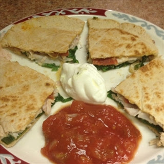 Redi Set Go Turkey, Pepperoni Quesadilla