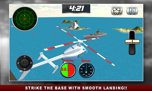 真正的直升机模拟器的3D