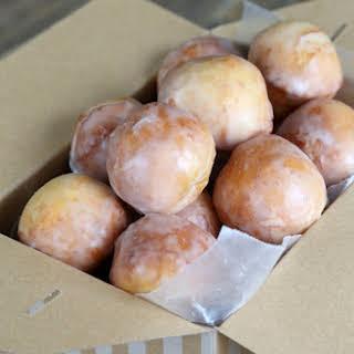 Glazed Gluten Free Donut Holes.