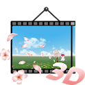3D Cherry Blossom LWP icon