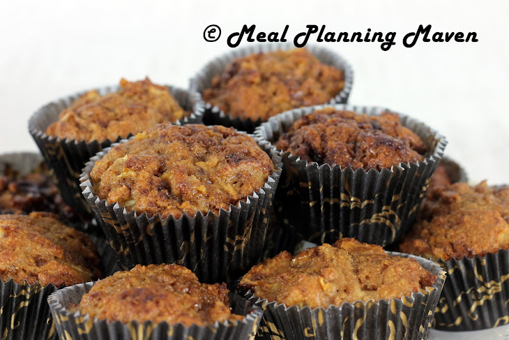 Chunky Apple Muffins Recipe