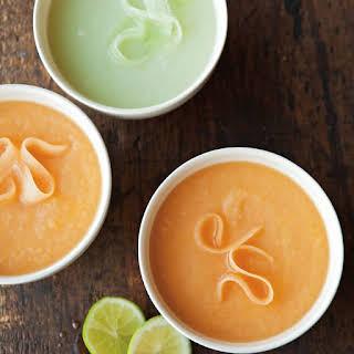 Two Melon Soups.