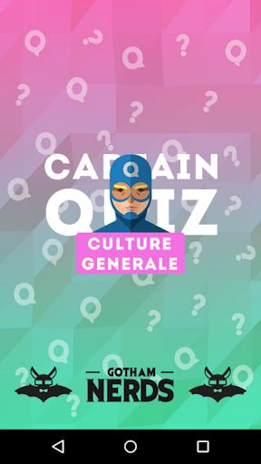 CaptainQuiz - Culture Générale