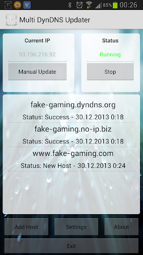 Multi DynDNS Updater Free