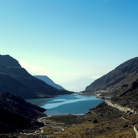 Lake view by Caesar Jees - Landscapes Mountains & Hills ( water, hill, mountain, lake, travel, landscape,  )