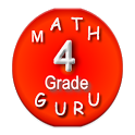 Fourth Grade Math Guru /math games for 4th graders icon