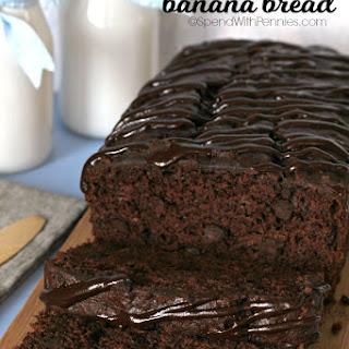 Triple Chocolate Banana Bread