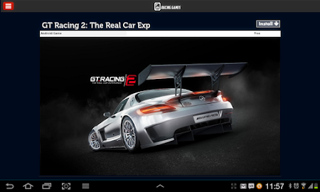 Racing Games Access For Tablet 1.0 screenshot 68224