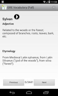 GRE Vocab Root Etymology FULL