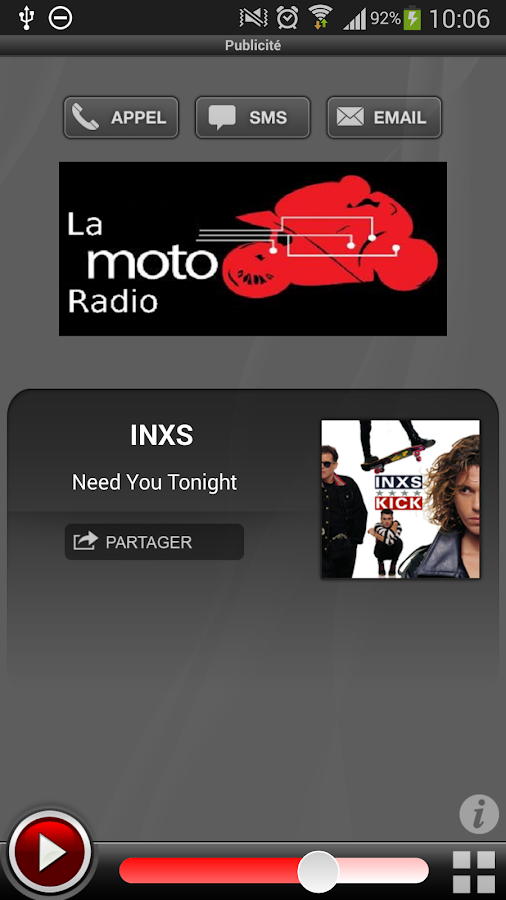 LMR - La Moto Radio - screenshot